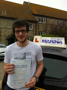 Brighton, Passed First Time